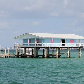 Stiltsville shacks evoke the past in waters near Miami