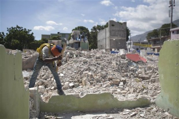 PLANS TO REBUILD HAITI CAPITAL DISPLACE FAMILIES
