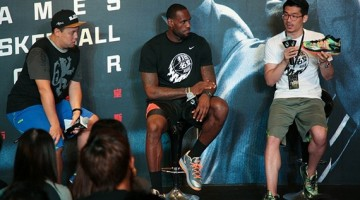 LeBron James humbled by fans in Hong Kong