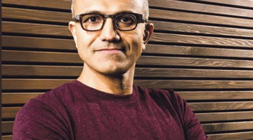 Satya Nadella / PHOTO COURTESY OF digitaltrends.com